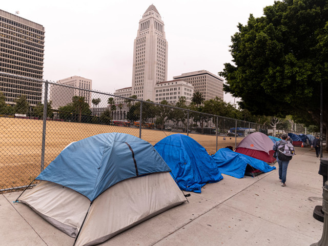 A new look at LA's homeless count numbers has some wondering if there will be a shift in conversation around mental illness, drug addiction