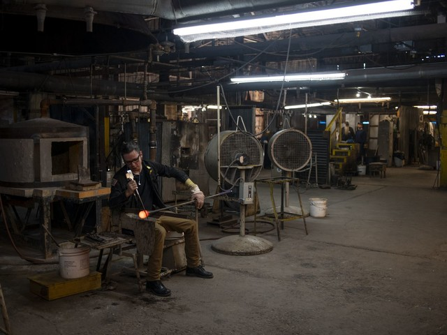 How a mythical backwoods monster saved a struggling West Virginia glass company