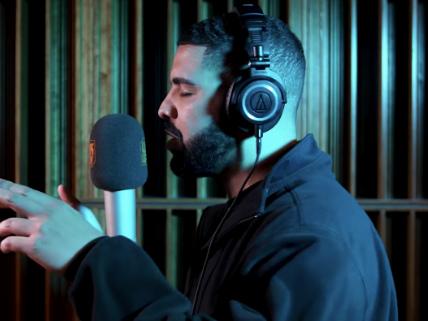 "Watch Drake's ""Behind Barz"" Freestyle"