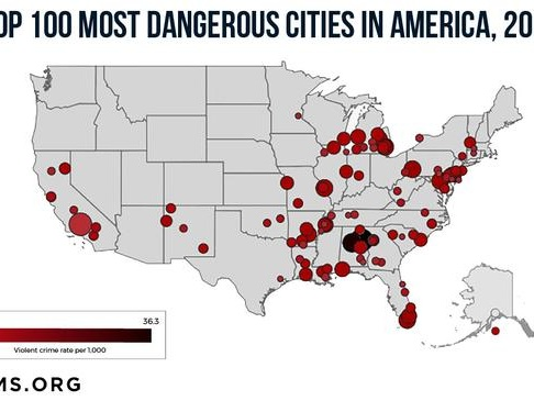 Violent Crime Is Surging Dramatically In Major Cities All Over America