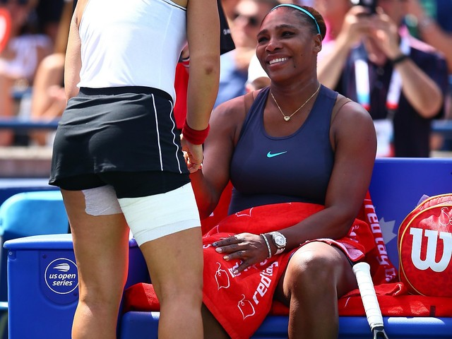 Serena Williams retires because of injury as Bianca Andreescu wins Rogers Cup