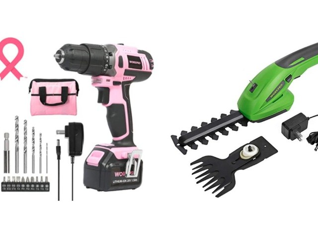 Up to 47% off Tools from Workpro, EverBrite, and More! Check out the Cute Pink Tools!