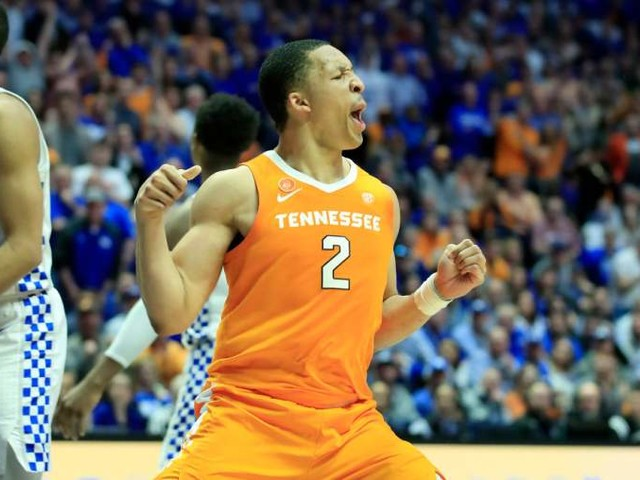 Grant Williams NBA Draft Projections: Mock Drafts for Volunteers Forward