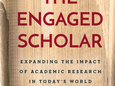 Author discusses his new book on 'the engaged scholar'