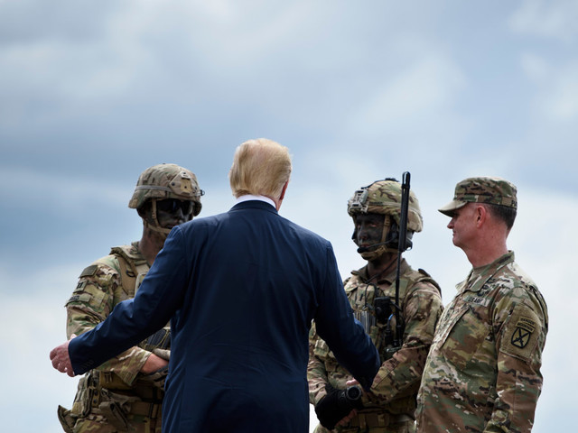Trump's big military parade will reportedly cost $80 million more than expected