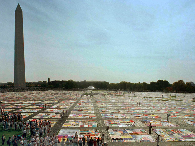 AIDS Memorial Quilt to Return Home to San Francisco