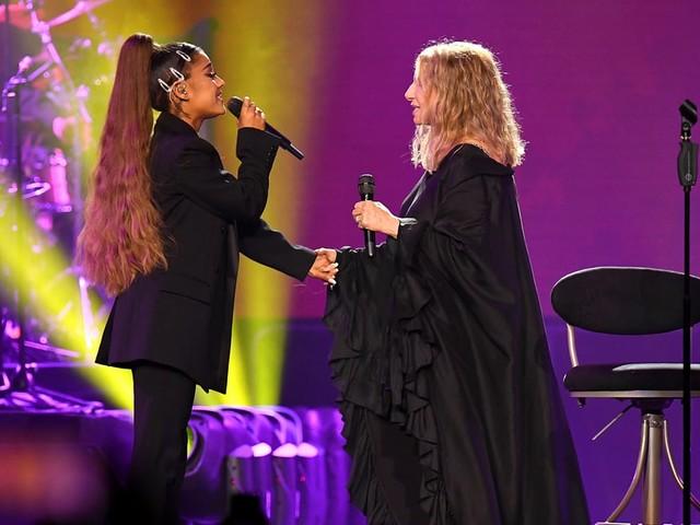 "Ariana Grande Finally Got to Duet With Barbra Streisand: ""The Best Night of My Life"""