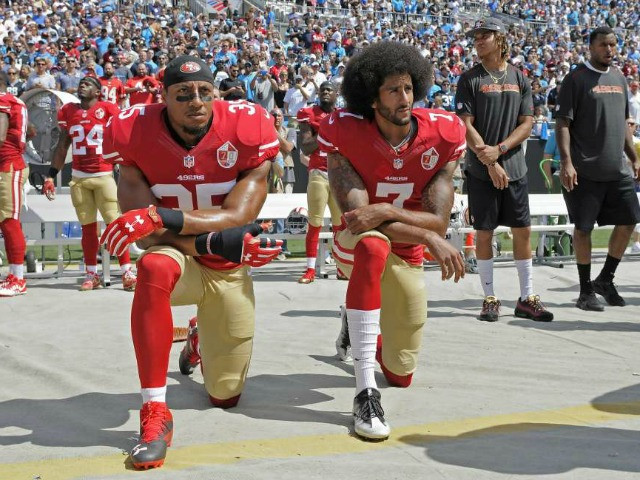 Anthem Kneeler Says NFL Siphoning From Breast Cancer, Military Donations to Give Social Justice Causes $89M