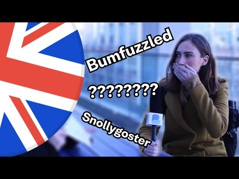 Londoners trying to guess very odd and old English words