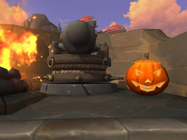 Halloween Decorations Available in Boralus and Dazar'alor on the PTR