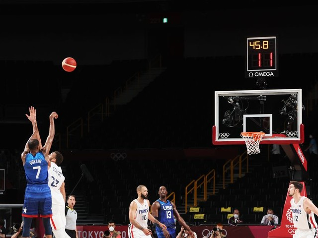 USA Basketball bricked three wide open shots to lose to France in Tokyo debut