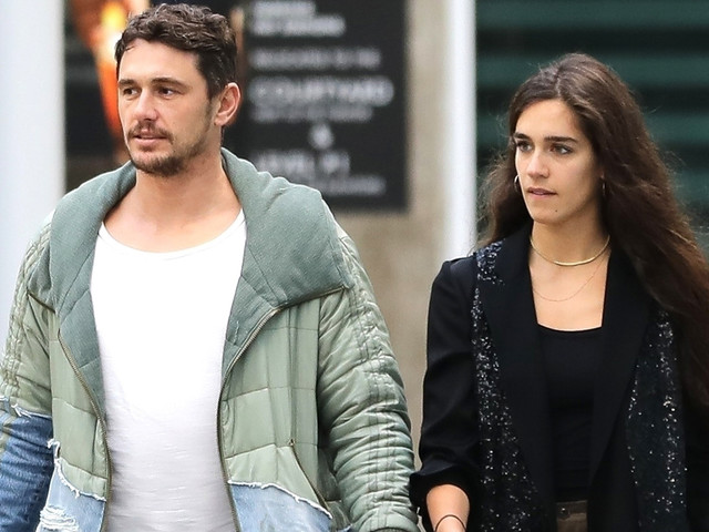 James Franco & Girlfriend Isabel Pakzad Have an Afternoon Movie Date!