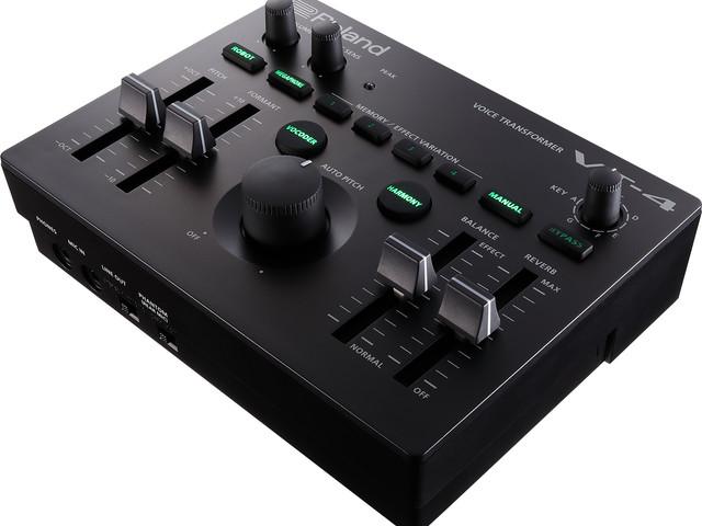 Roland's little VT-4 vocal wonder box just got new reverbs