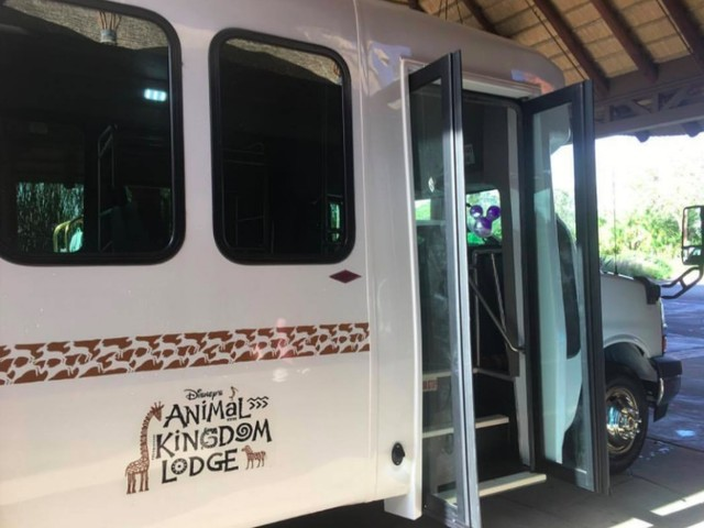 Disney Introduces Internal Resort Shuttle Bus Between Jambo House and Kidani at Animal Kingdom Lodge