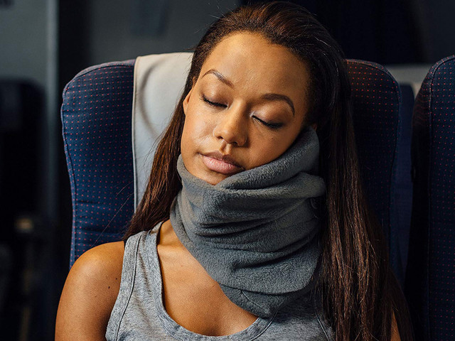 Save $5 on a travel pillow that's unlike anything you've seen before