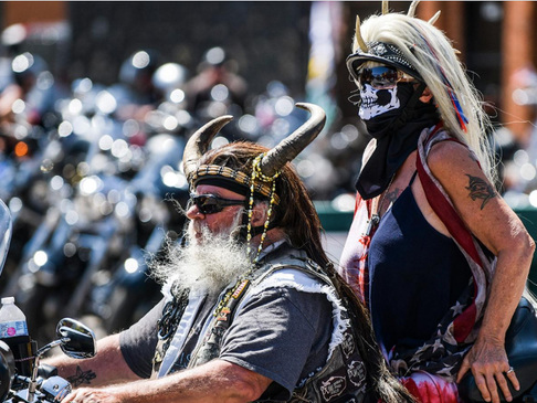Sturgis Motorcycle Rally Kicks Off With Bang Amid Virus Controversy:84 arrests, 226 Citations, 18 Crashes In 24 Hours