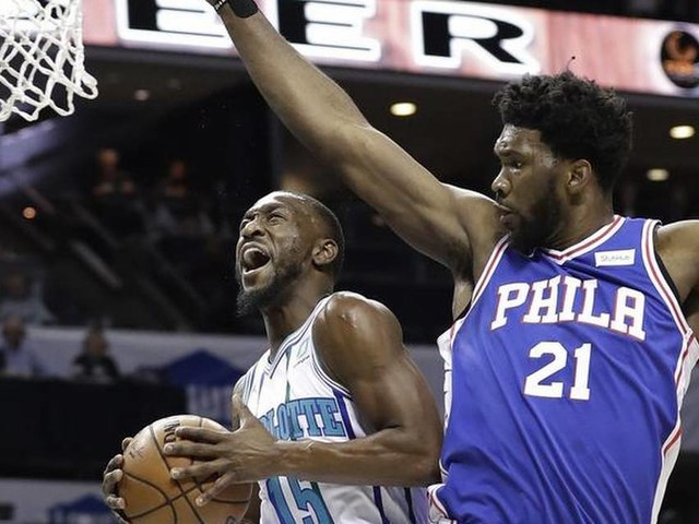 Despite Kemba Walker's record 60 points, Charlotte Hornets fall to 76ers in OT