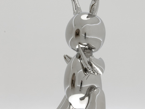 Koon's 'Rabbit' fetches record $91 million at NY auction