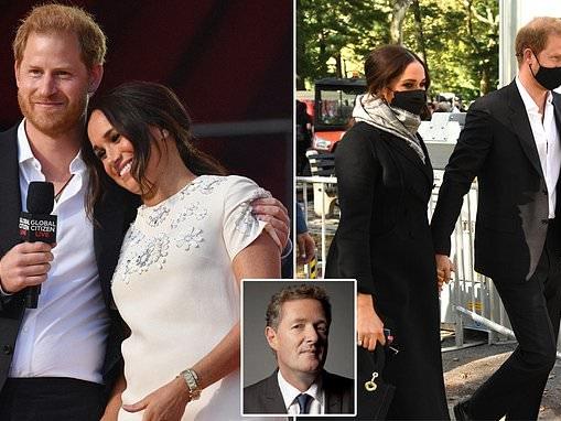 PIERS MORGAN: We need an urgent vaccine to save us from the Duke and Duchess of Polluting Hypocrisy