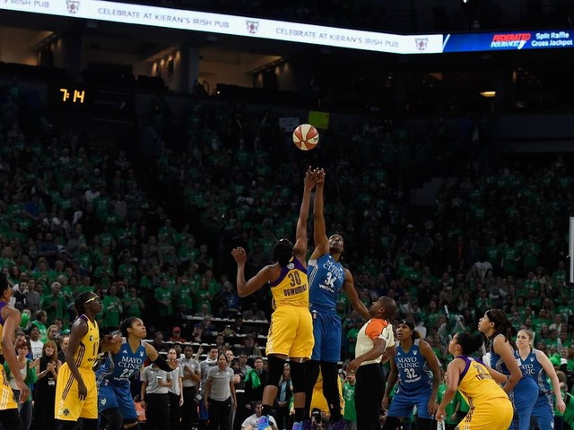 WNBA's new playoff format has Lynx-Sparks rivalry front and center