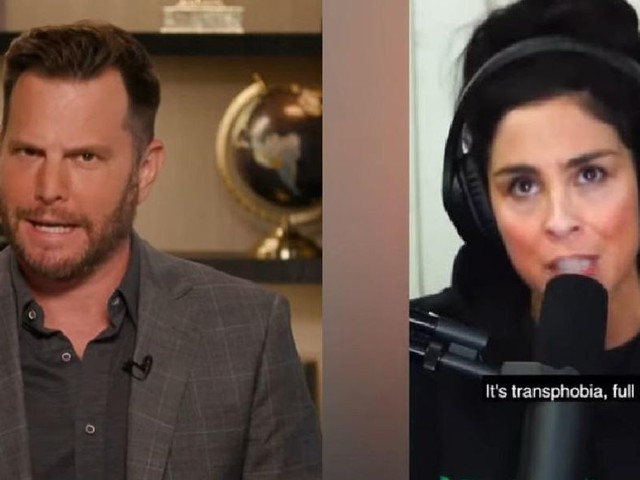 'Guess what ... YOU are the bigot': Dave Rubin torches Sarah Silverman over INSANE Caitlyn Jenner rant