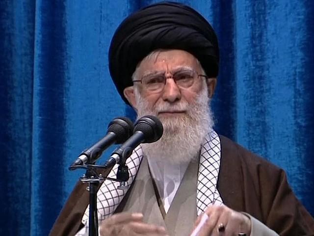 In rare address, Iran's supreme leader praises strikes on U.S. bases