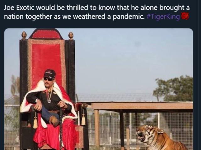 Netflix's 'Tiger King' starring former zoo keeper Joe Exotic sparks hilarious memes