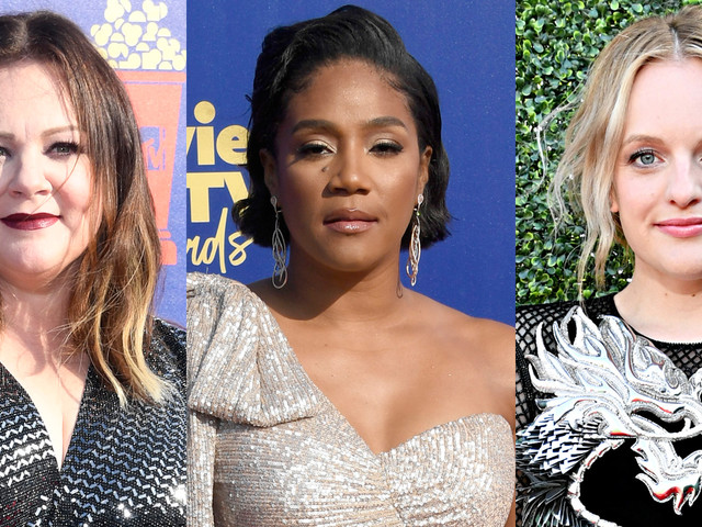 Melissa McCarthy, Tiffany Haddish, & Elisabeth Moss Step Out for MTV Movie & TV Awards 2019