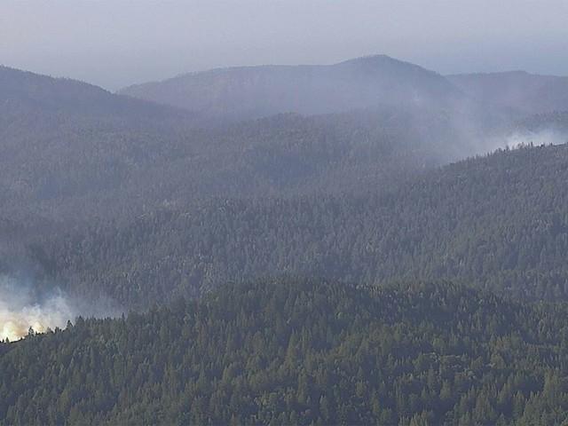 Day Around the Bay: Wildfires Kick Up In CZU Complex Scar
