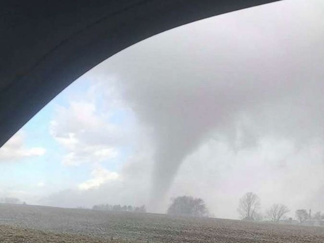 Powerful storm ends after almost 150 reports of severe weather