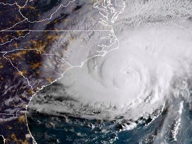 Hurricane Florence Is Dumping a Huge Amount of Rain on the Carolinas