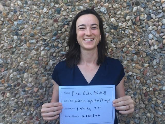 Faces of NPR: Rae Ellen Bichell