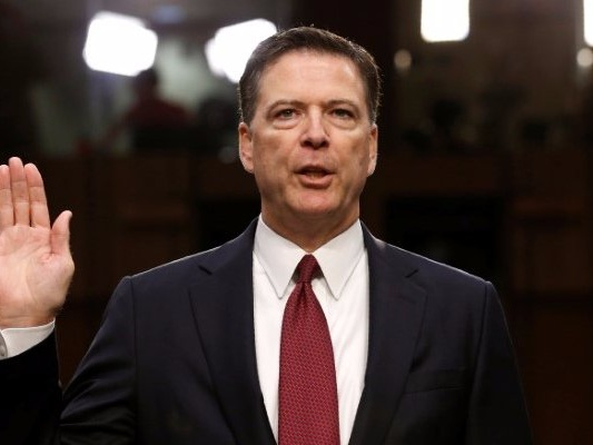 'A calculated attack': The White House says the DOJ 'should certainly look at' prosecuting James Comey