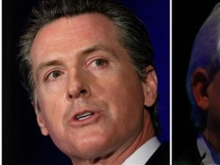California governor candidates face off in only debate