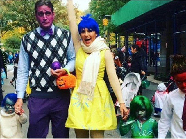 Peter and Mariska's Family Halloween Costumes Are as Sweet as a Candy Apple