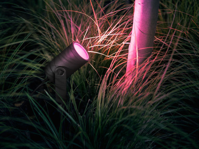 Philips Hue Lily outdoor spotlight review: The perfect highlight for your outdoor landscaping