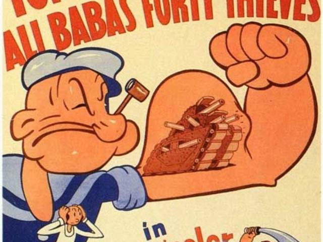 The Fleischer Popeye Color Specials (1936-1939)