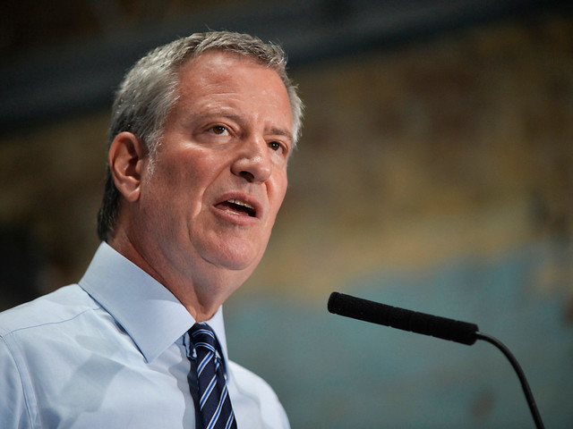 Bill de Blasio finally gives up on presidential bid — but not on torturing New York