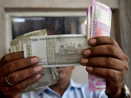 Rupee Slips By 42 Paise To 72.08 Against Dollar