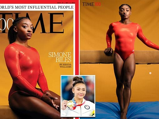 Simone Biles makes Time 100 list of most influential people alongside Olympic teammate Suni Lee