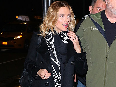 Scarlett Johansson Flashes Engagement Ring From Fiance Colin Jost After Calling Him 'Love Of Her Life' On 'SNL'