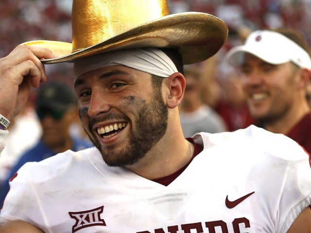 Baker Mayfield wins Walter Camp Award as college football's player of the year