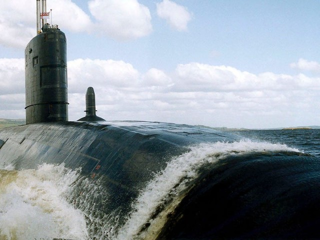 A secret collision between British and Soviet submarines could've turned out much worse