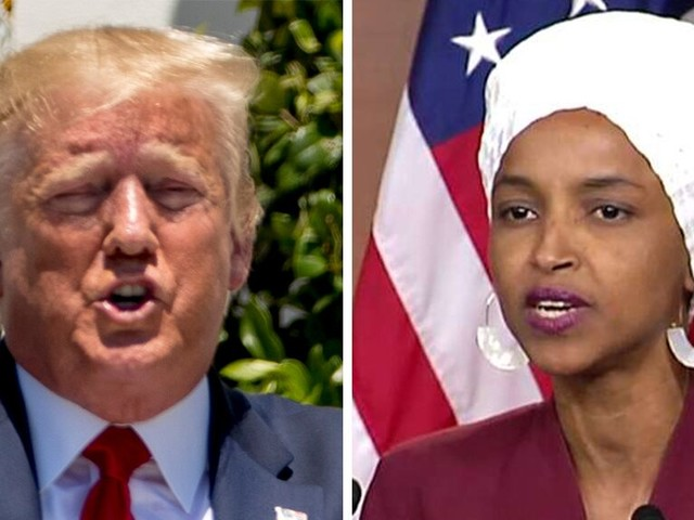Dems circle wagons around the 'squad,' as Omar responds to 'send her back' chant