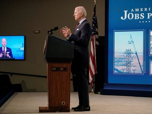 """""""Boom Or Bust For The Economy & Markets"""" - JPM Previews The Next 100 Days For Biden"""