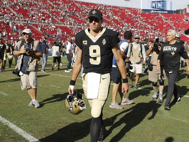 Drew Brees Has Always Fixed Everything for the Saints. What Will They Do With Him Injured?
