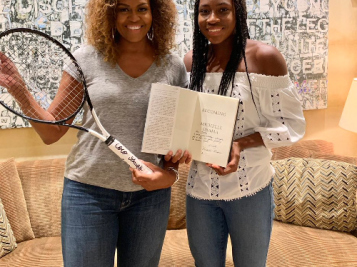 Go Off Coco! Michelle Obama & Coco Gauf's Meeting Is #BlackGirlMagic Personified