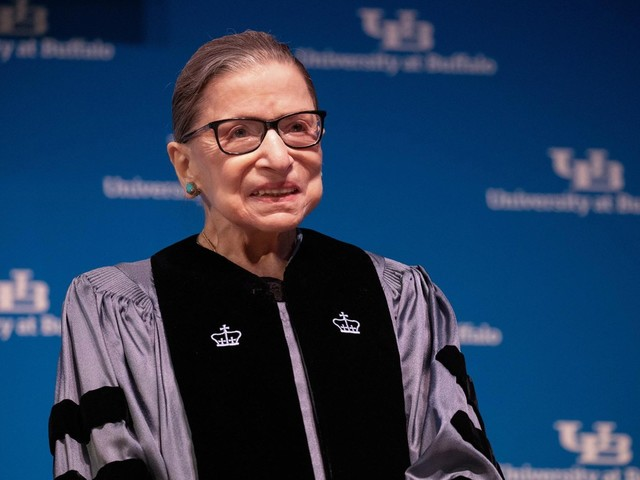 Ruth Bader Ginsburg makes first appearance since cancer treatement