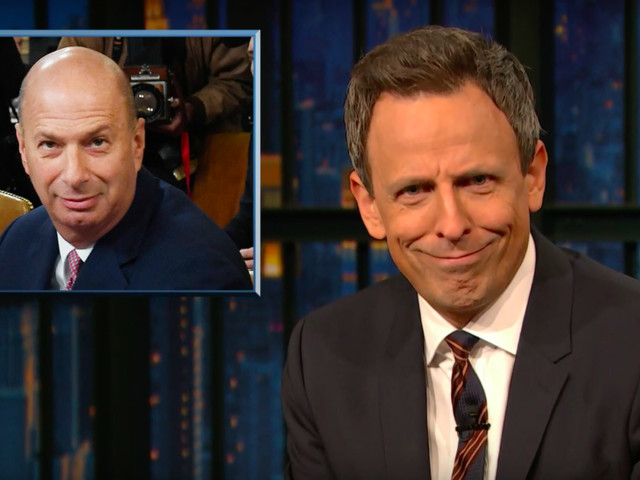 Seth Meyers thinks we've earned some expletives in Trump's impeachment hearings