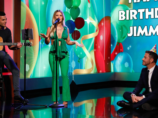 Maren Morris Sings Jimmy Kimmel A Hilarious Birthday Song Made Up from Wikipedia - Watch Here!